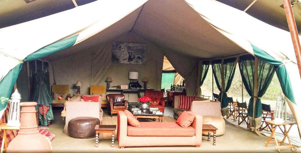 Tented Camp hébergements en safari au Kenya