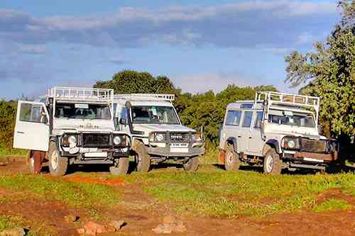 véhicule 4x4 safari kenya