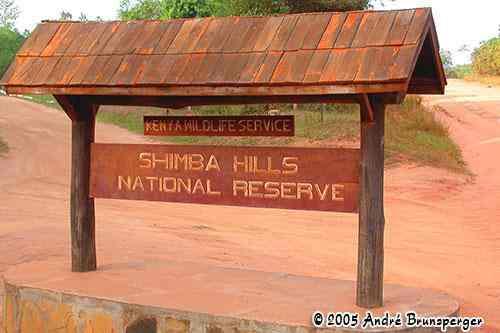 Réserve de Shimba Hills Kenya
