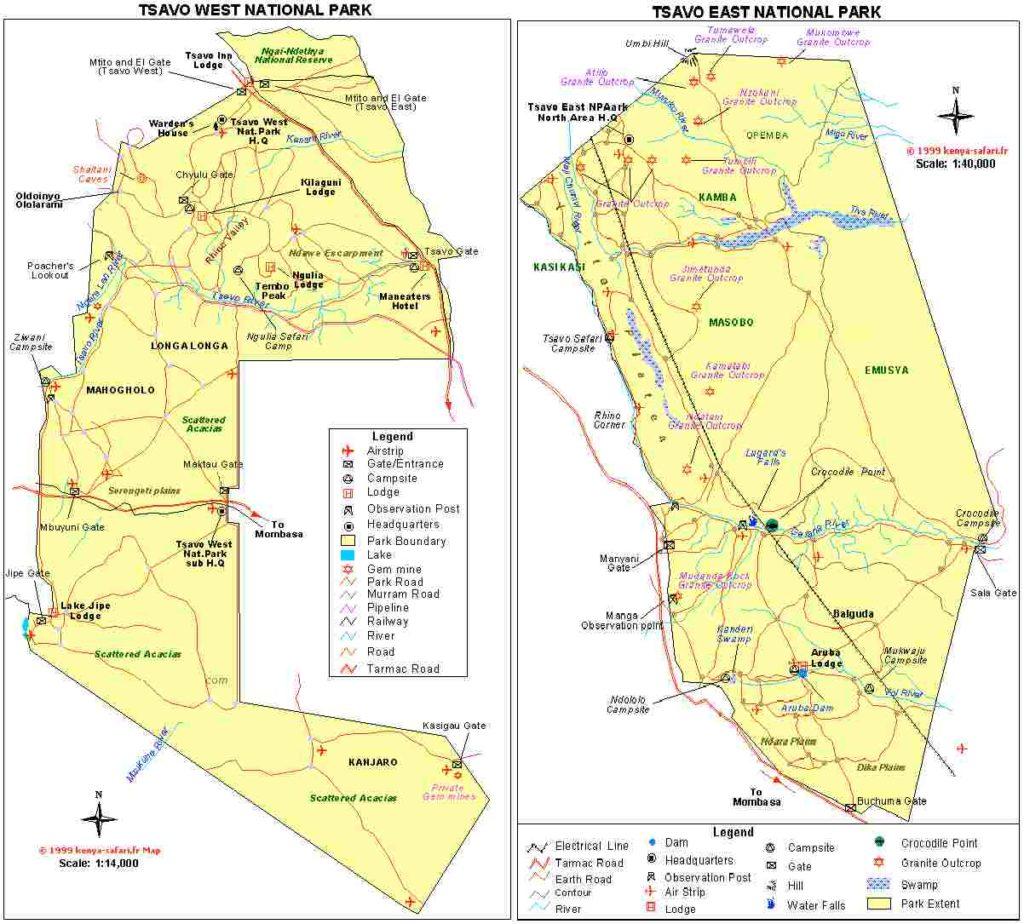 Parcs Tsavo Kenya